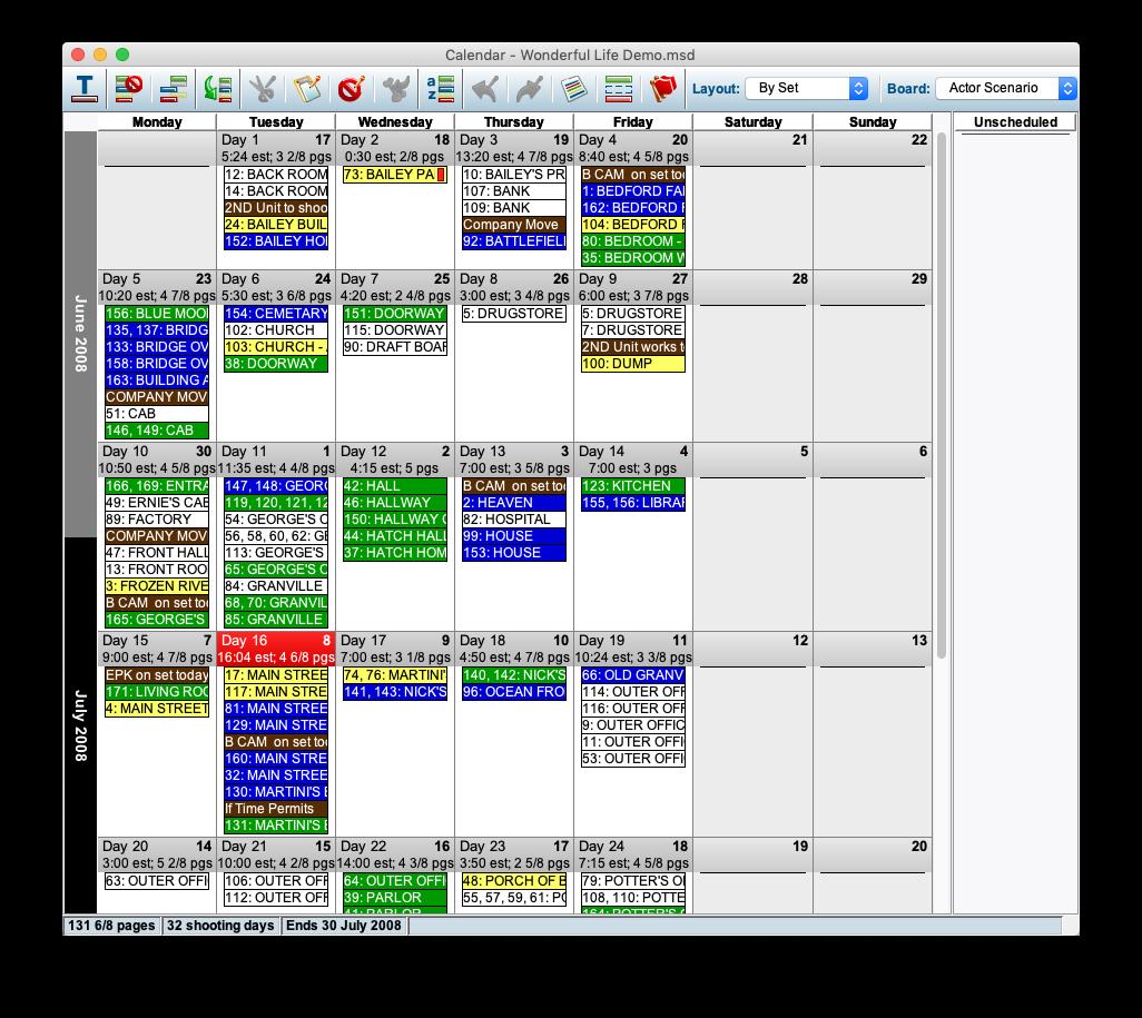 MMS Calendar