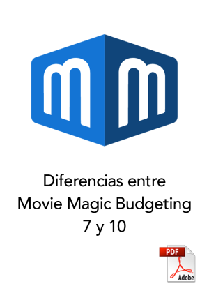 Diferencias entre Movie Magic Budgeting 7 y 10